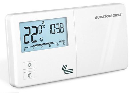 Программируемый цифровой недельный Терморегулятор Auraton 2025